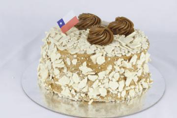 Torta Manjar-Nuez